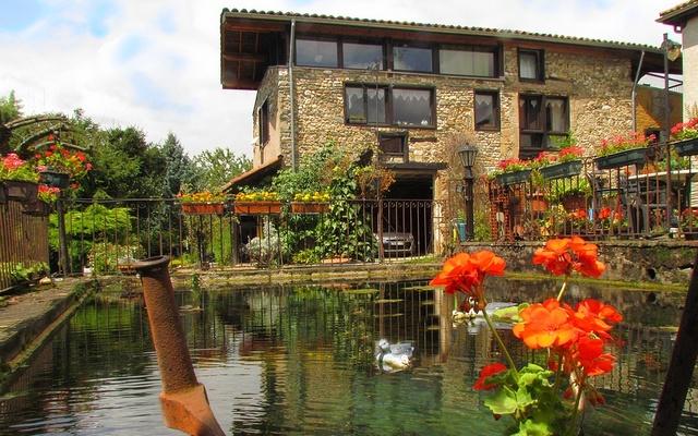 G te jardin la source french gite gite jardin b b france rhone alpes is re grenoble voiron - Bassin jardin japonais grenoble ...